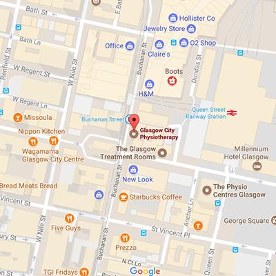 glasgow city physio location